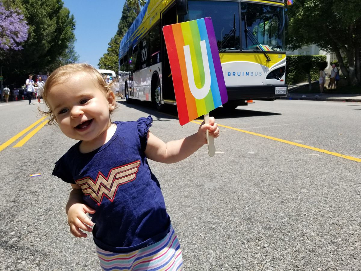 Celebrating UCLA 100 at LA Pride