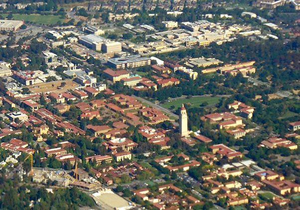 AR-campus aerial