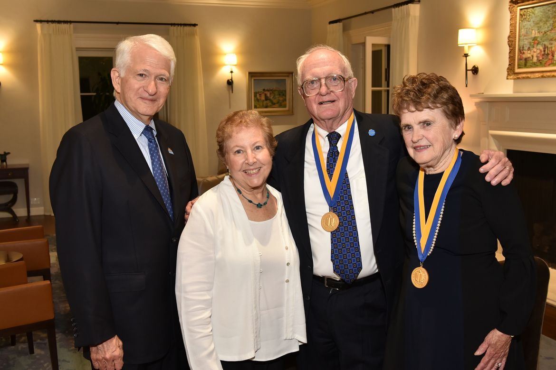 Morrisons UCLA Medal