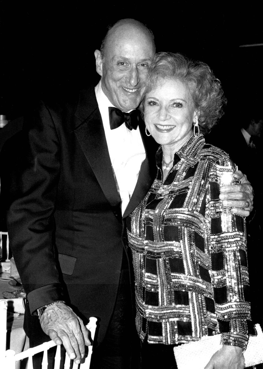 John H. Mitchell and Betty White
