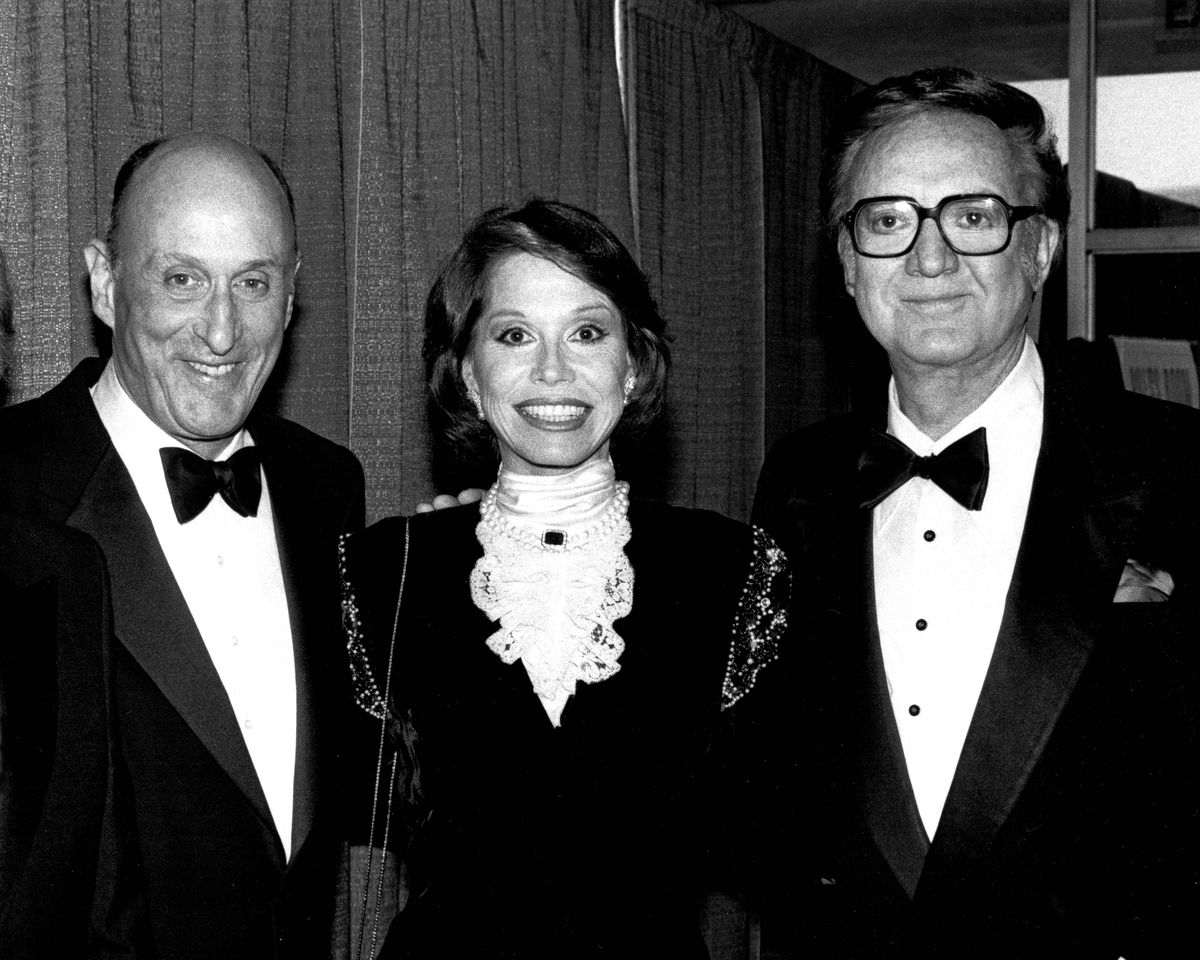 John H. Mitchell, Mary Tyler Moore and Steve Allen