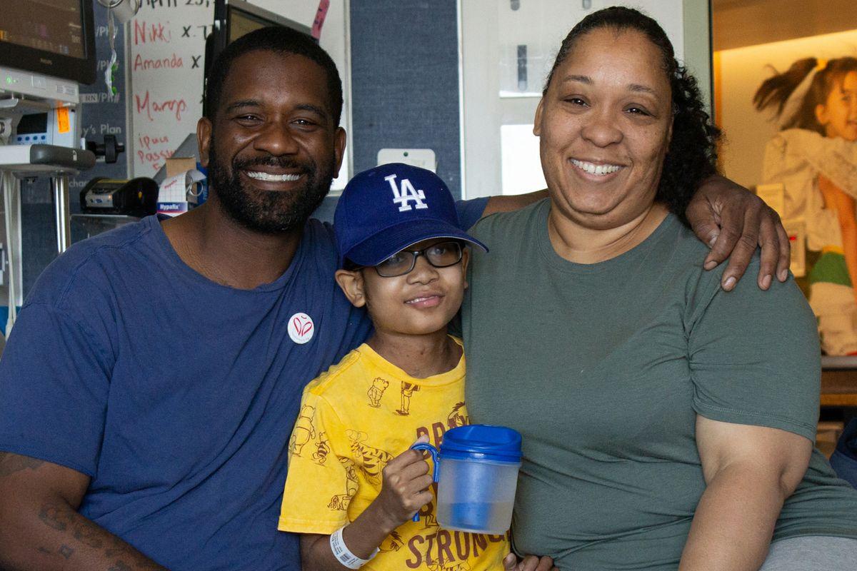 UCLA Mattel Children's Hospital patient family