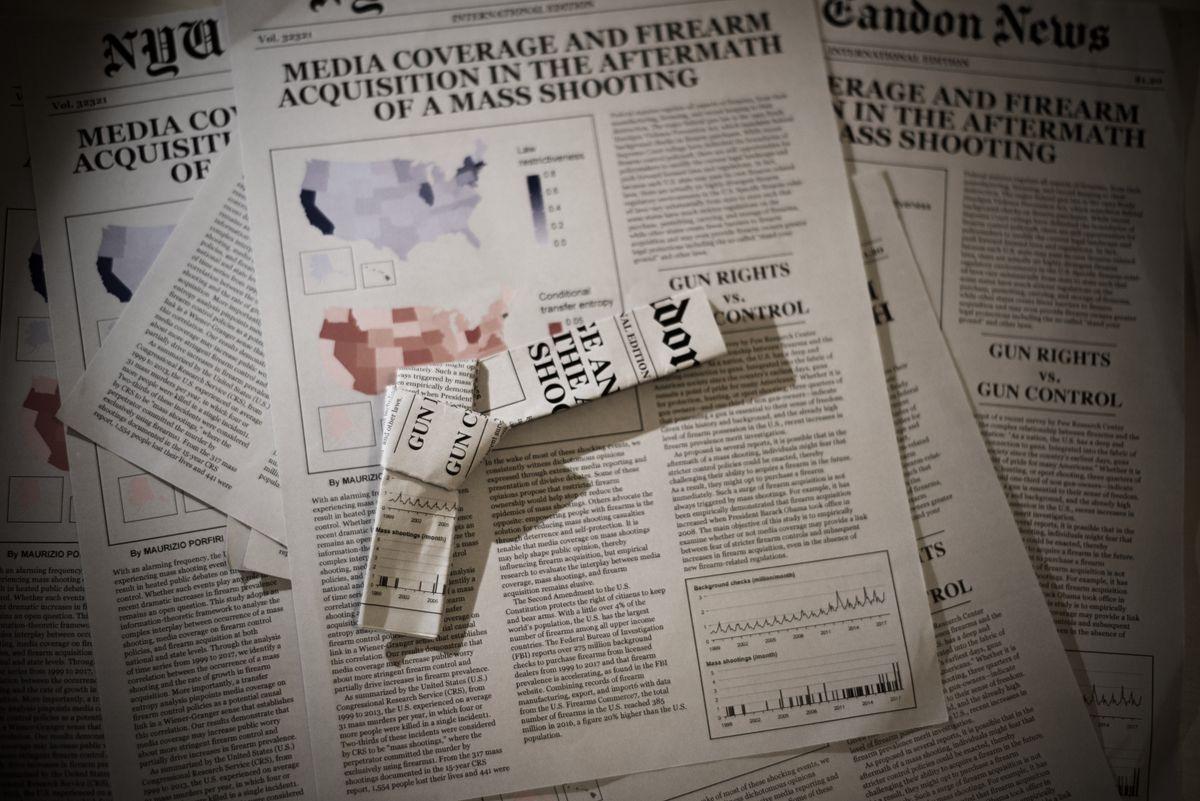 Guns and media