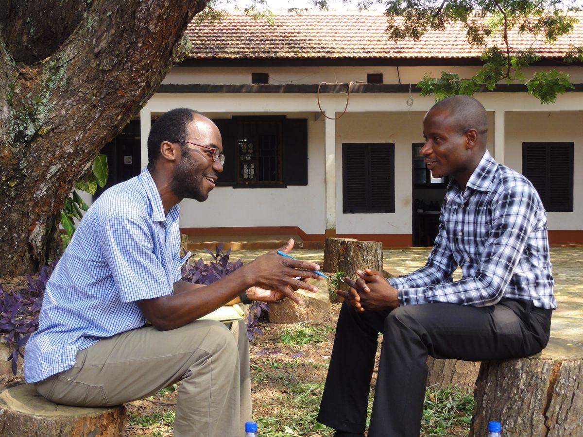 Harold Torrence in Ghana