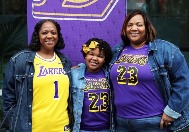 Lakers for a Day Operation Mend