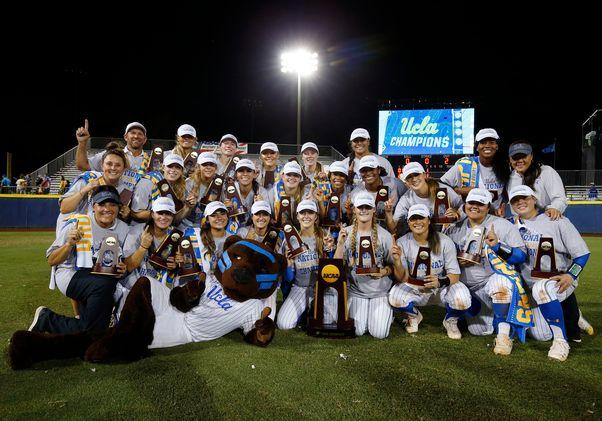 UCLA Softball champs