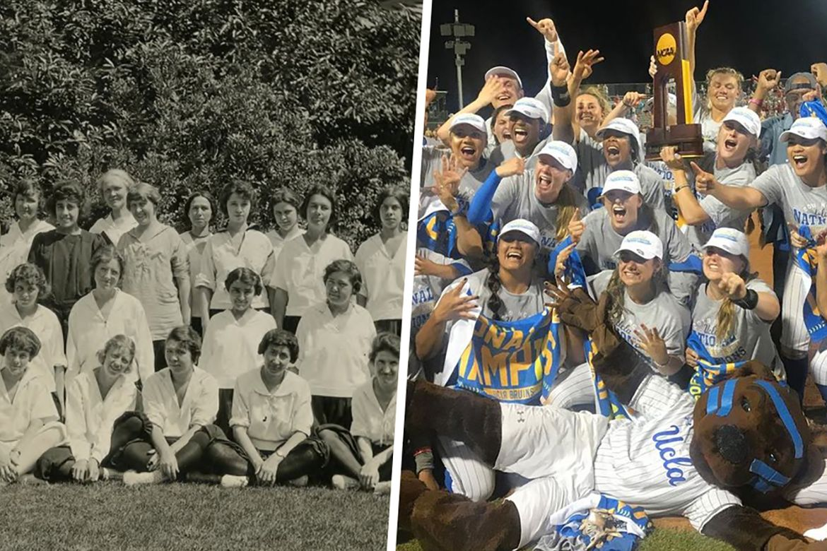 Then and Now UCLA Women Sports