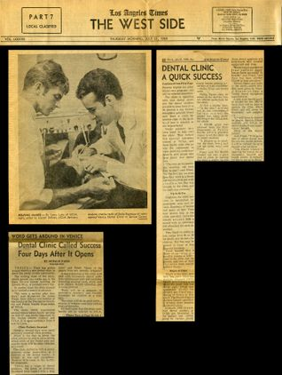 UCLA Venice Dental Clinic newspaper clippings