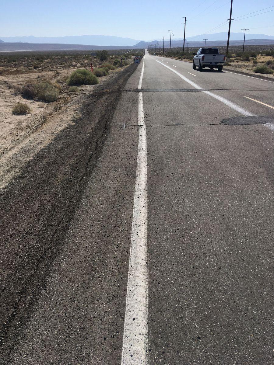 Ridgecrest - road