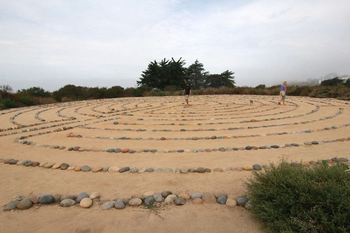 Peaceful labyrinth