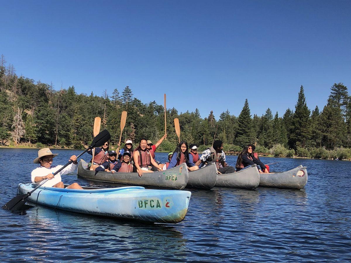 UniCamp canoeing