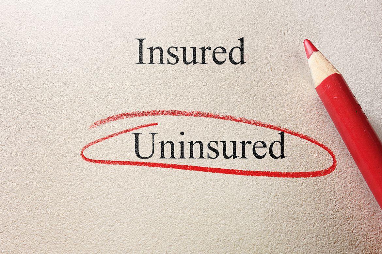 Insured and uninsured