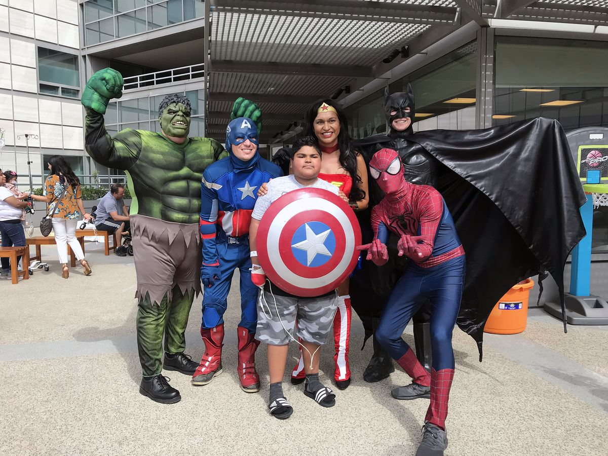 Superhero window washers 2019 group