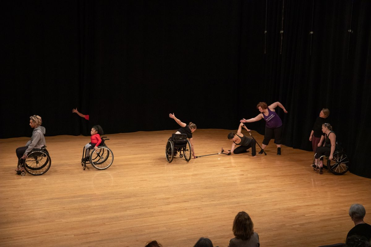 Dancing disability lab performance