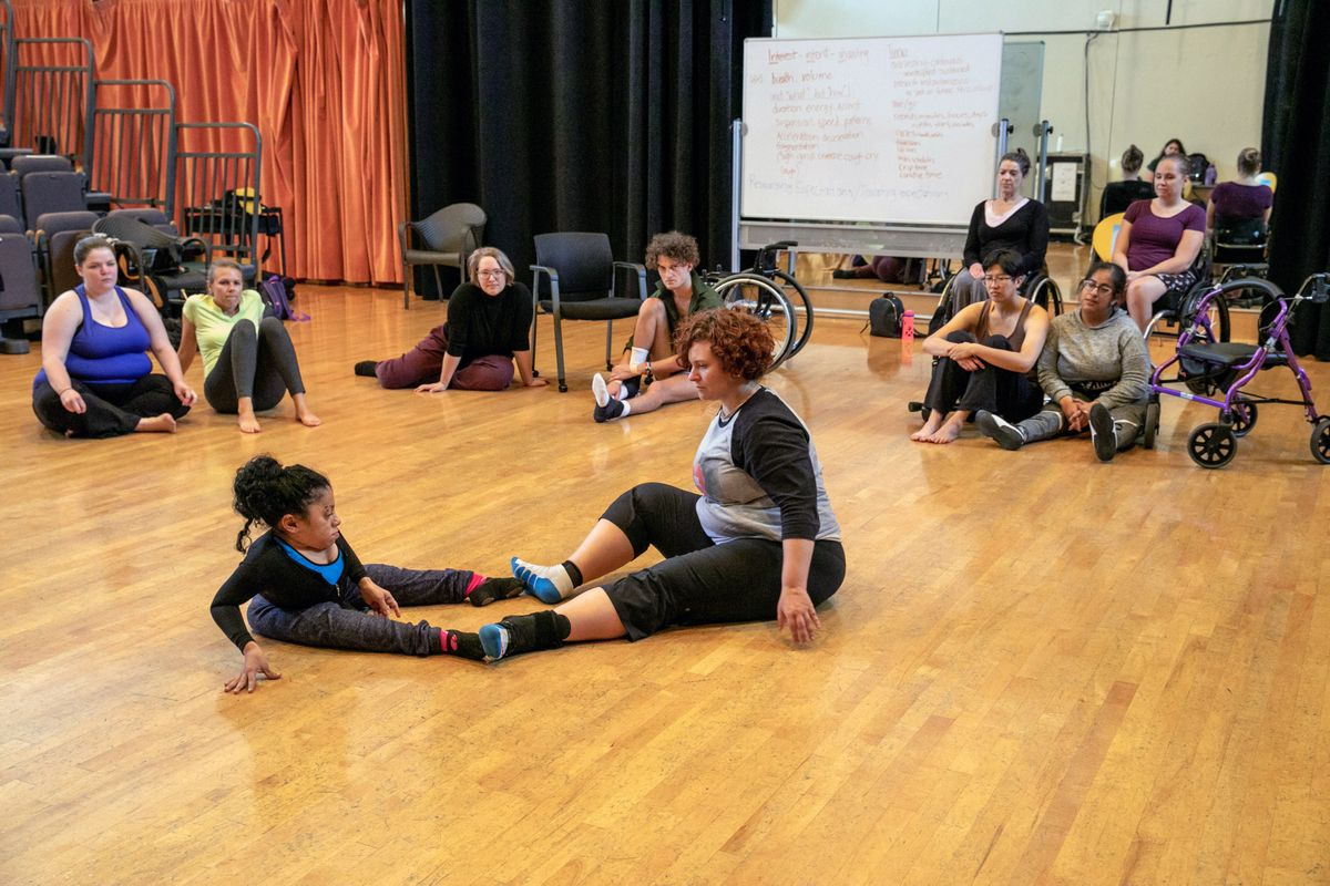 Dancing Disability Lab workshop
