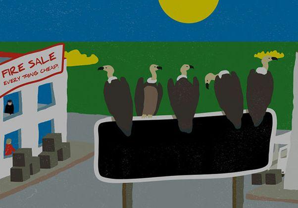 Vultures pickup for widget