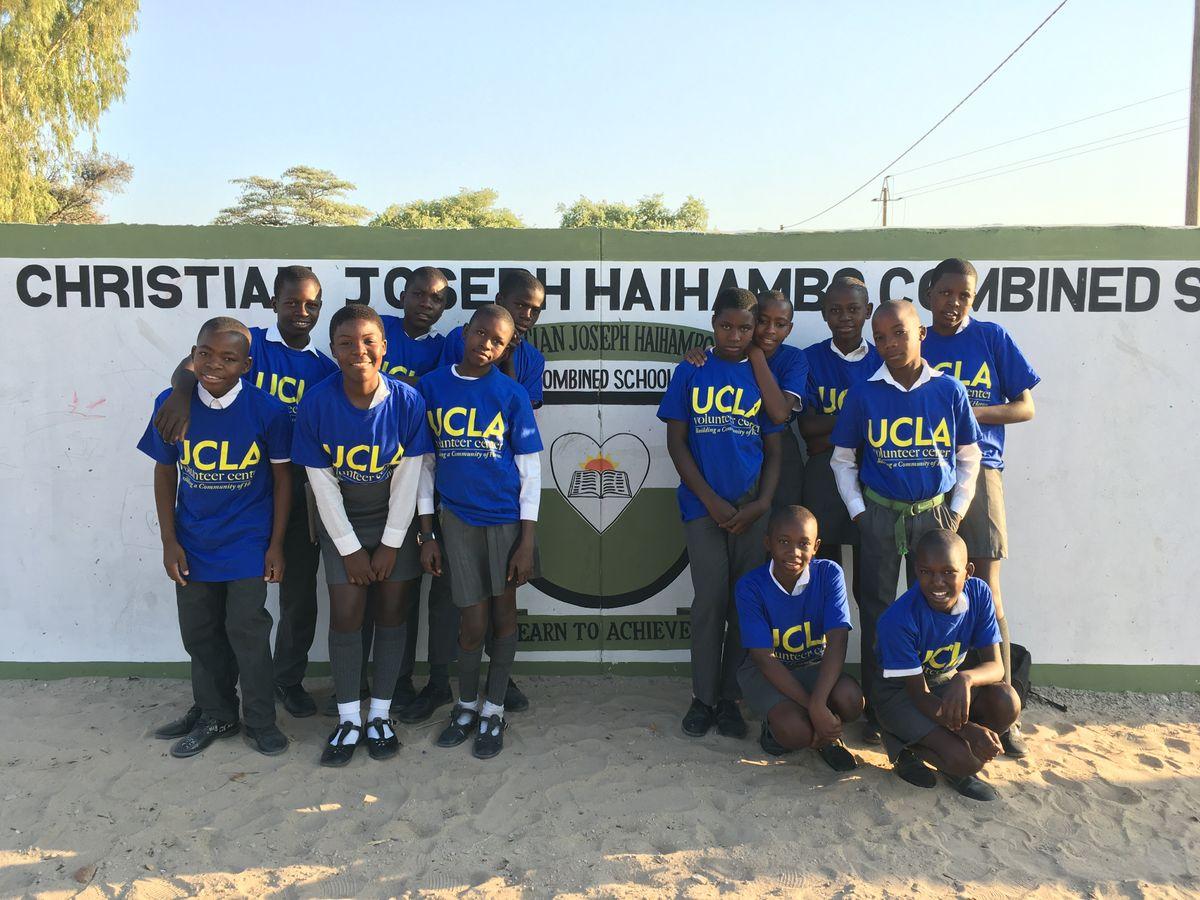 UCLA Volunteer Day 2018 Namibia