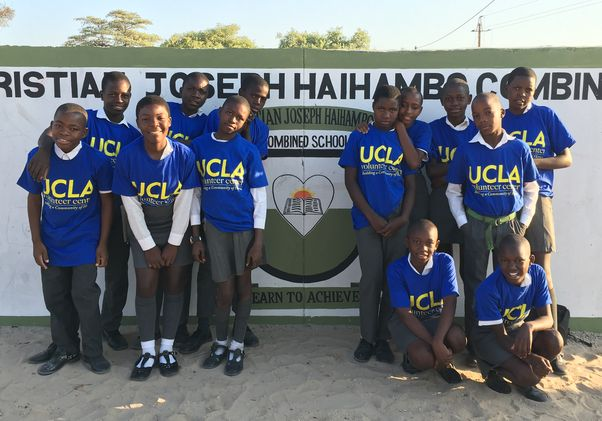 UCLA Volunteer Day 2018 Namibia