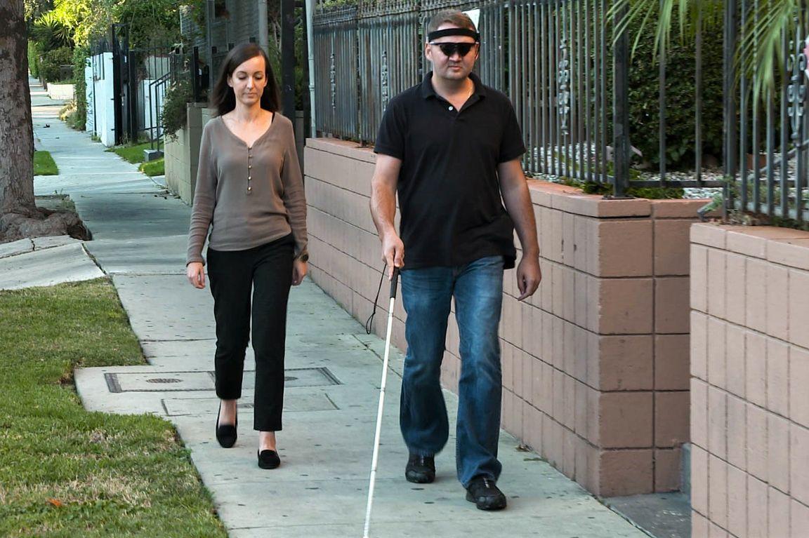 Jason Esterhuizen walking