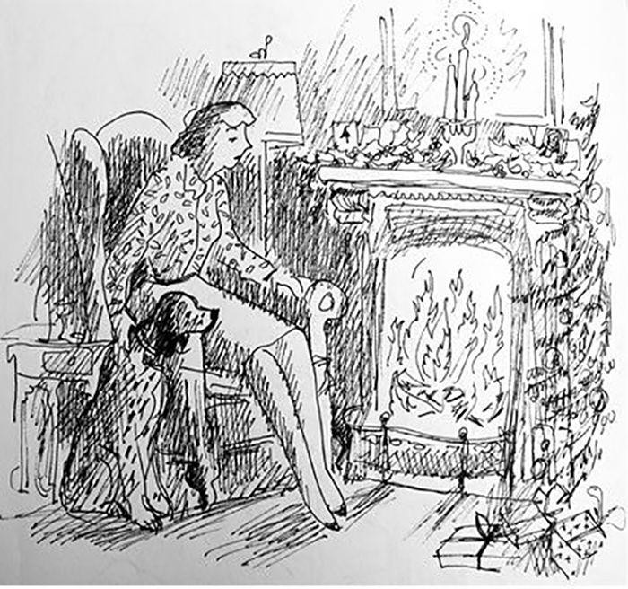 Vance Gerry sketch