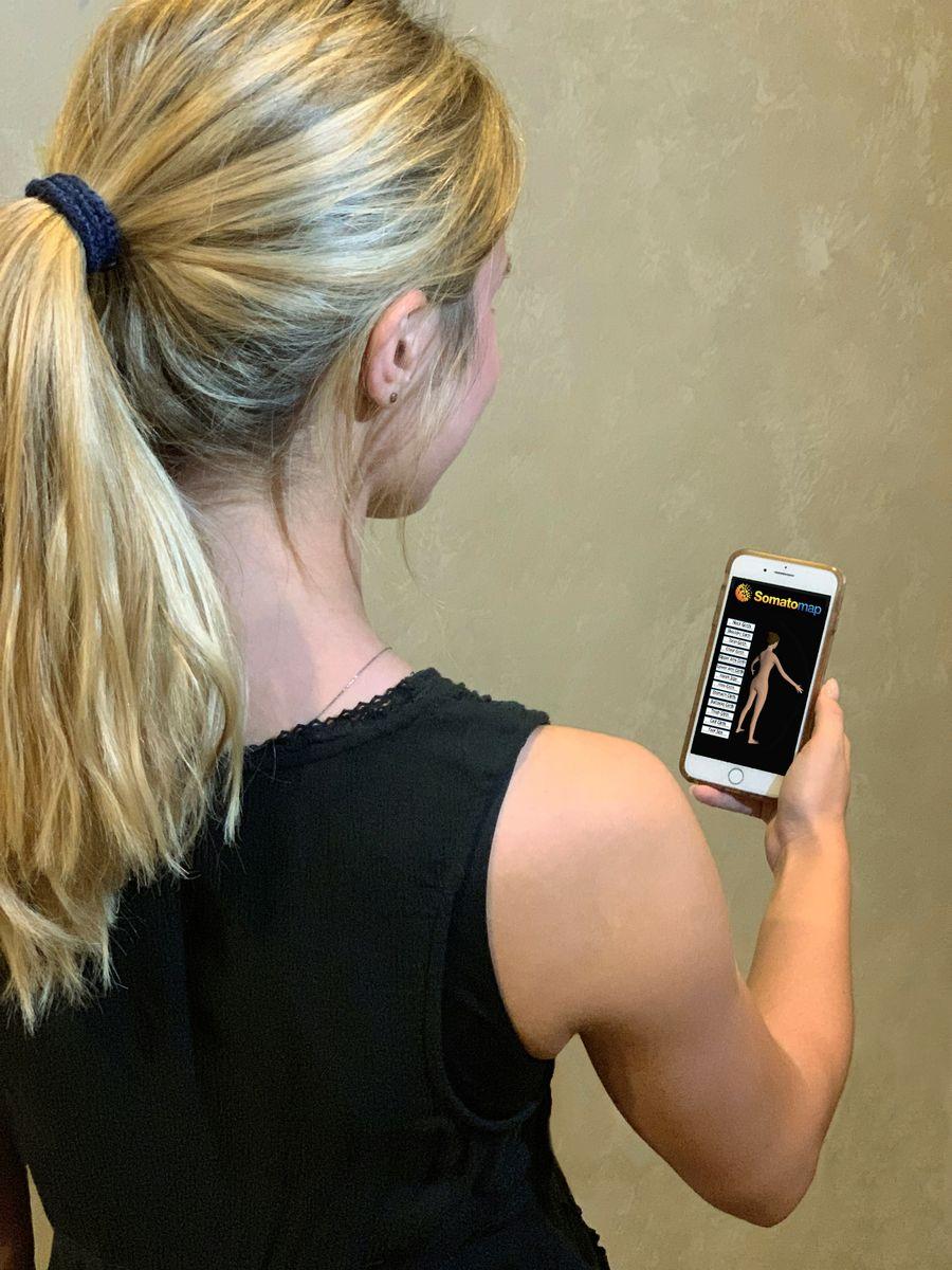 Somatomap phone app