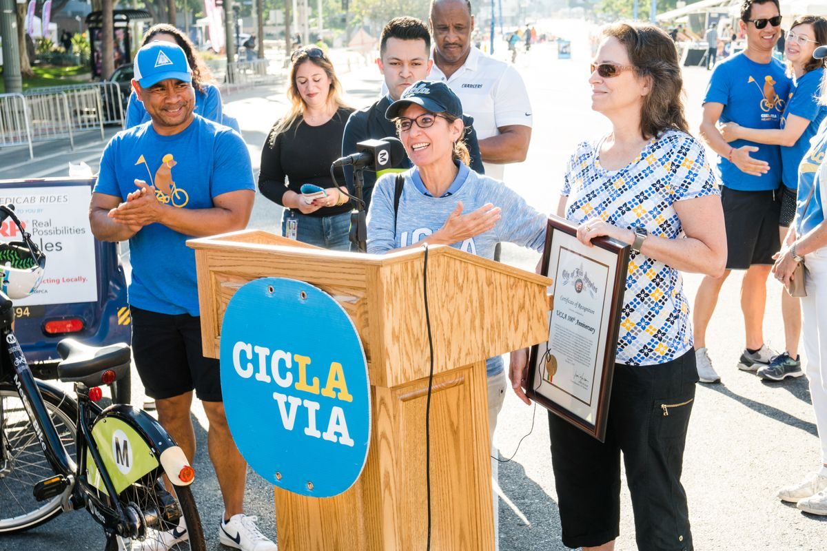 UCLA CicLAvia speakers