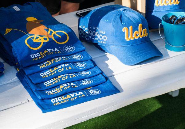 UCLA CicLAvia merchandise