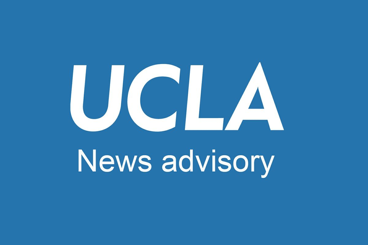 UCLA News Advisory logo