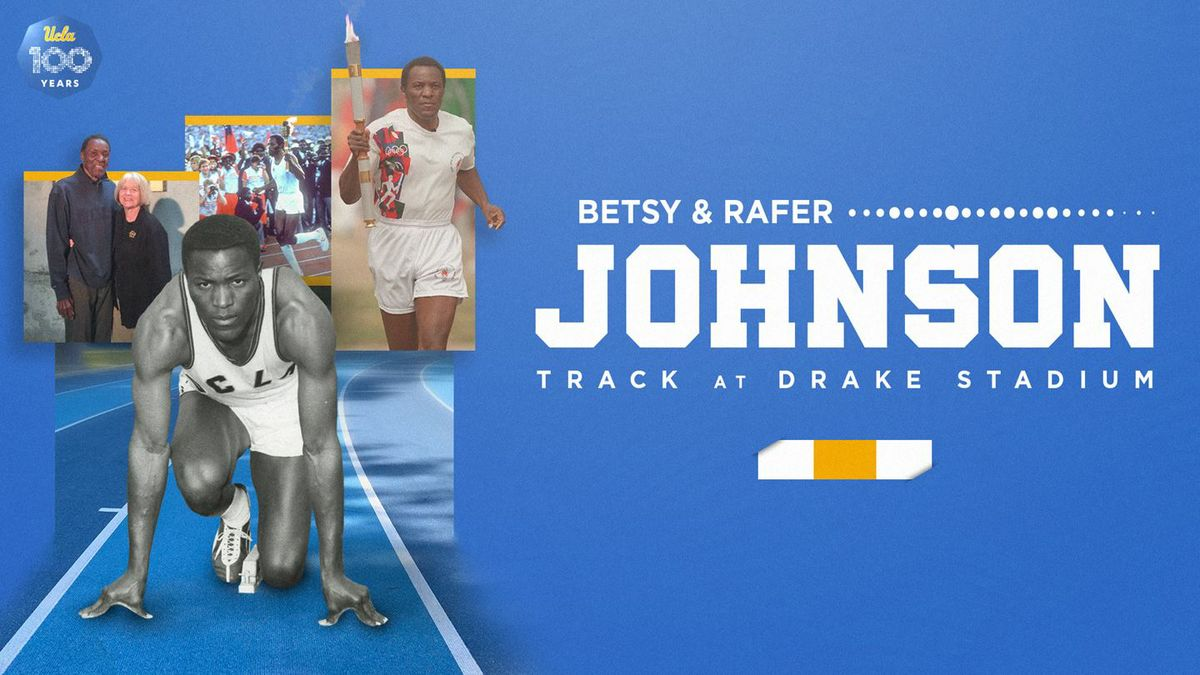 Betsy and Rafer Johnson Track graphic