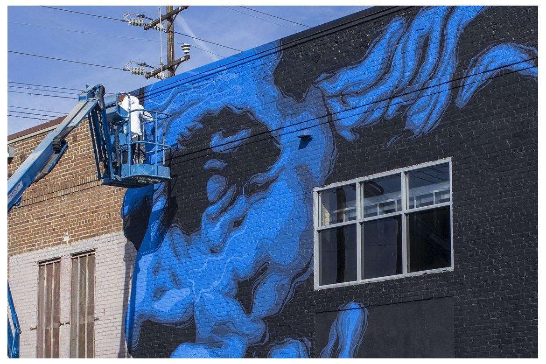 Zeus mural