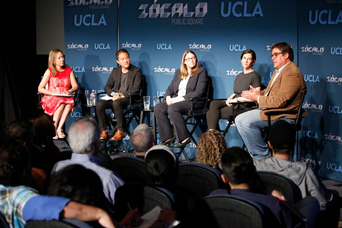 Zócalo panel on homelessness