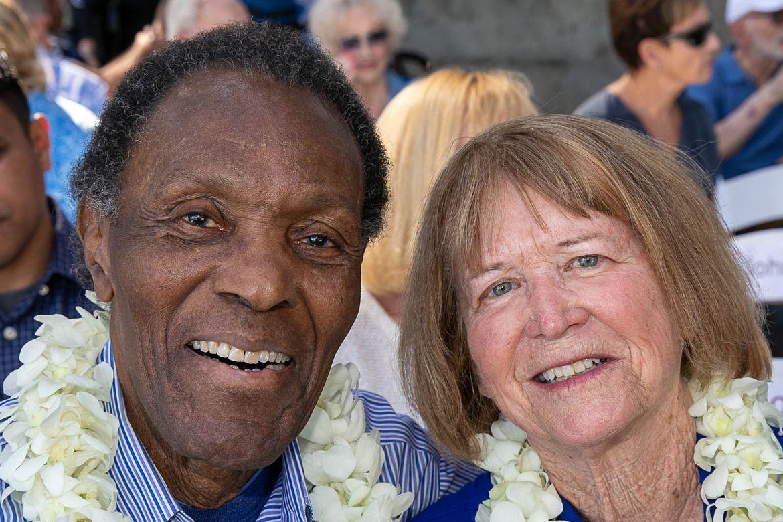Rafer and Betsy Johnson