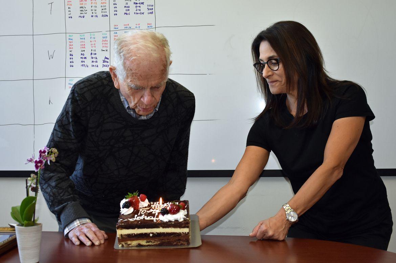 Professor John McNeil turns 100
