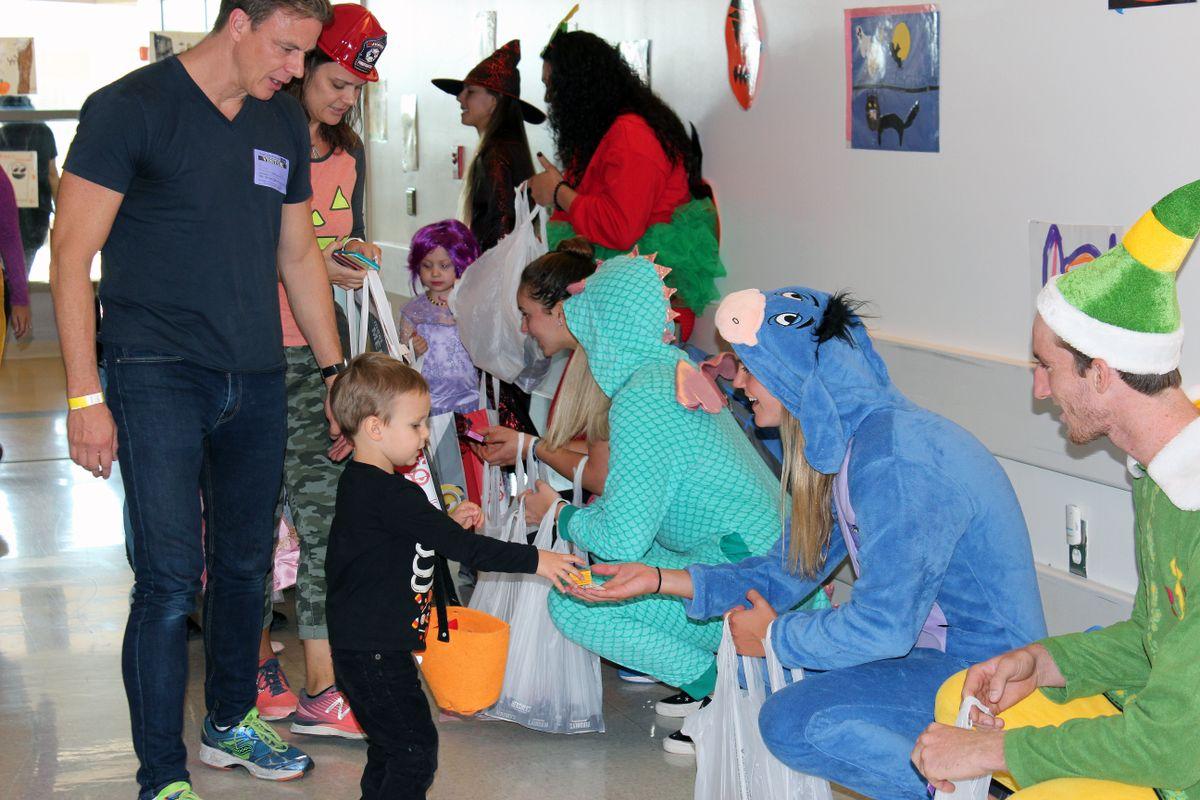 Jones family at UCLA Mattel Children's Hospital
