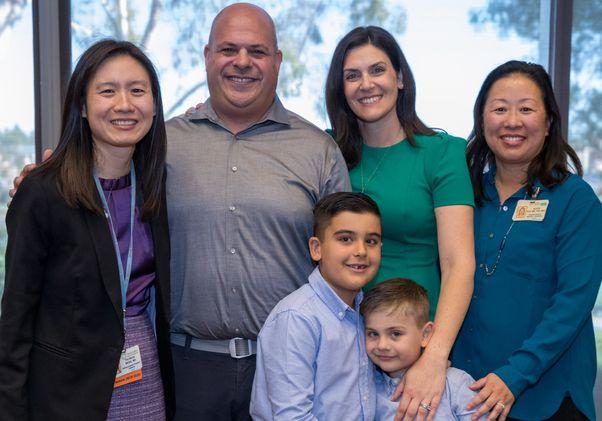 Schwartz family and doctors