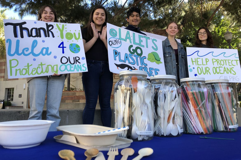 UCLA plastics policy-students