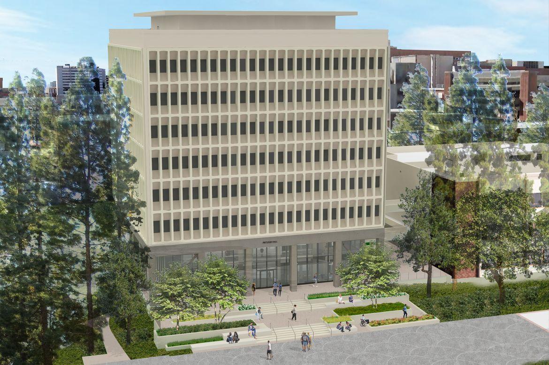 Pritzker Hall rendering