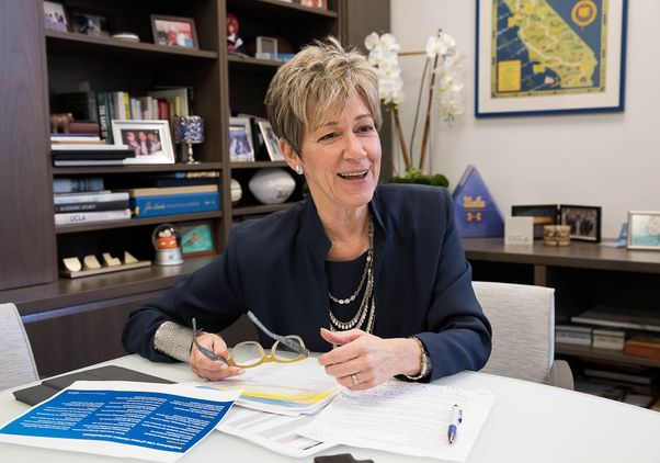 UCLA Vice Chancellor Rhea Turteltaub