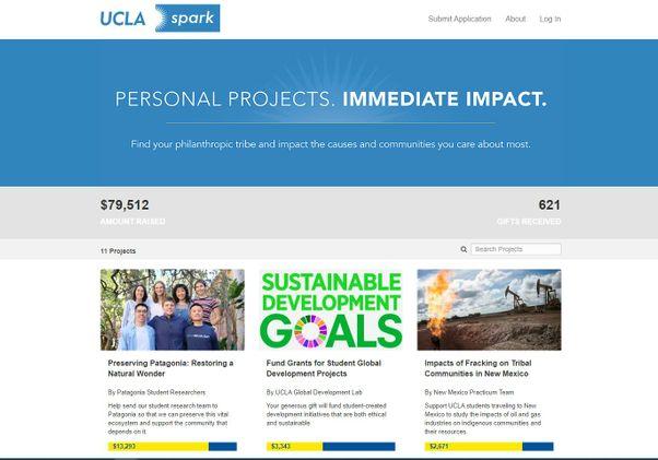 UCLA Spark website
