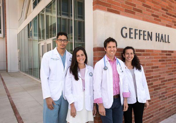 Geffen Medical Scholarship recipients