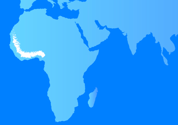African genome research map