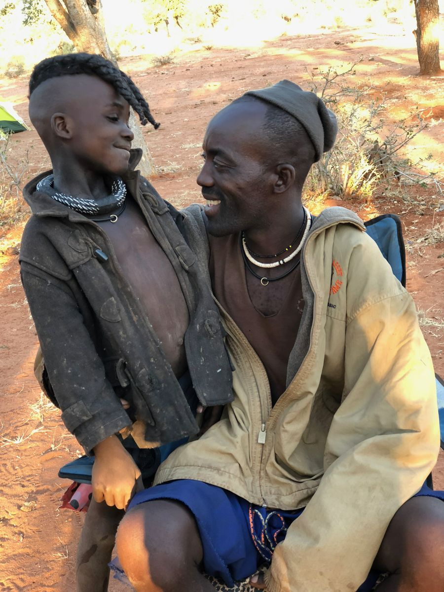 Himba father and son_vertical