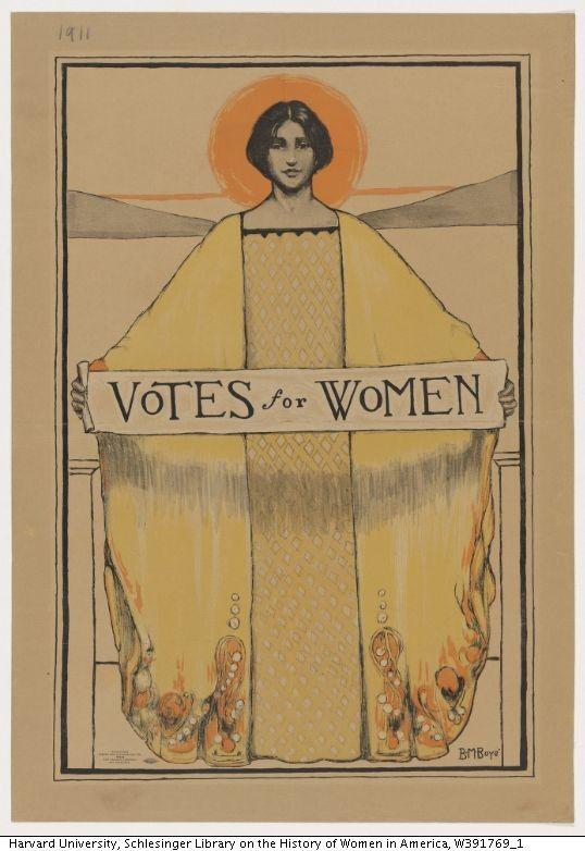 California suffrage poster