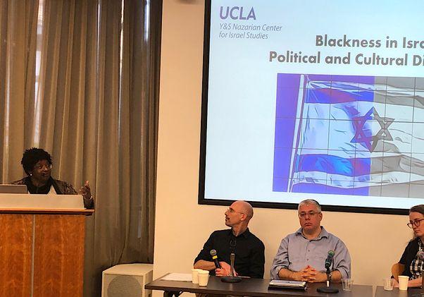 Blackness-Israel symposium