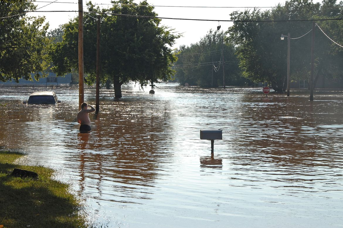 Flood in Oklahoma
