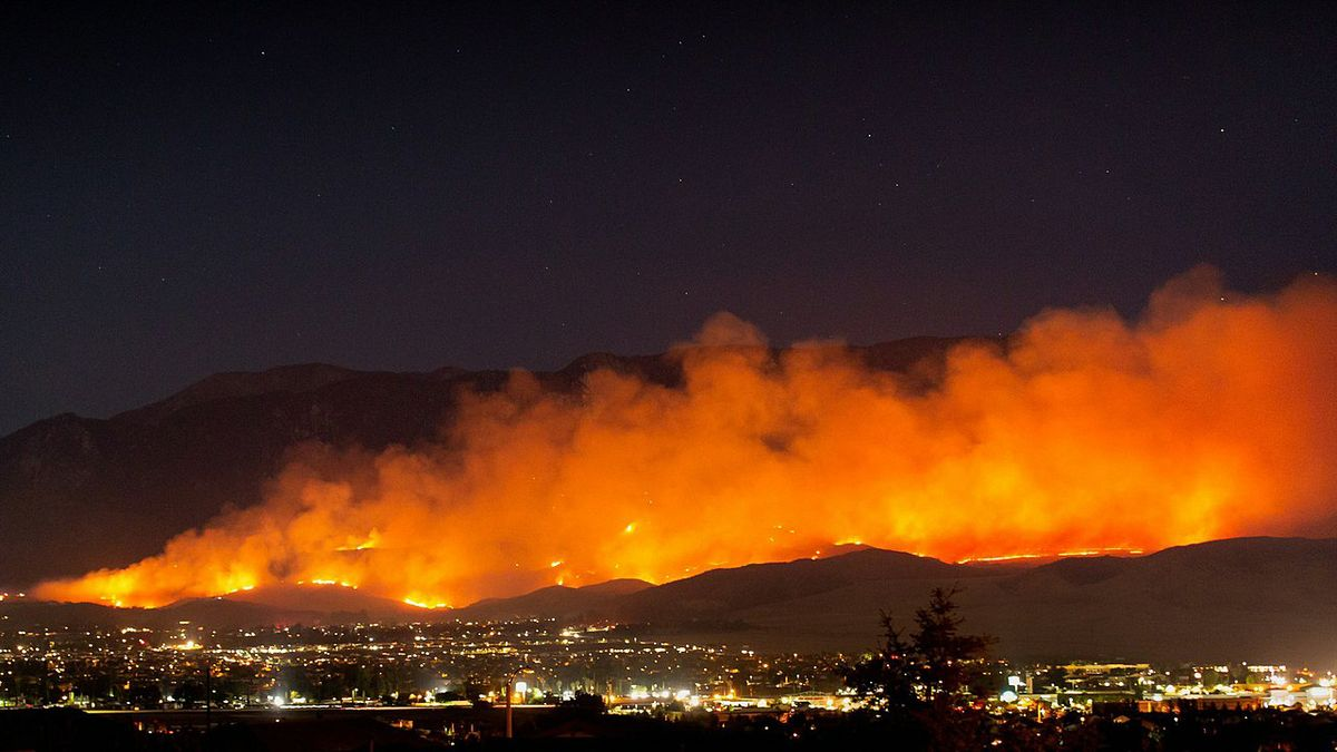 The 2020 Apple Fire in Riverside County, California, burned more that 33,000 acres. | Photo by Brody Hessin.