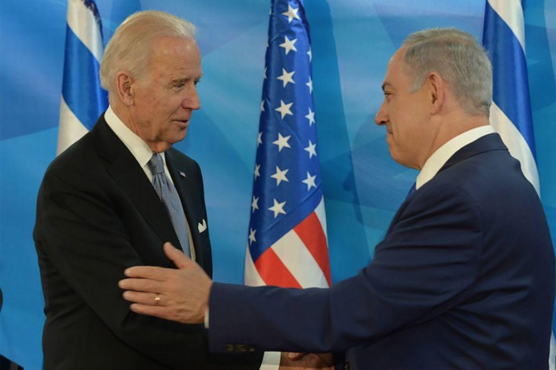 Biden with Netanyahu 2016