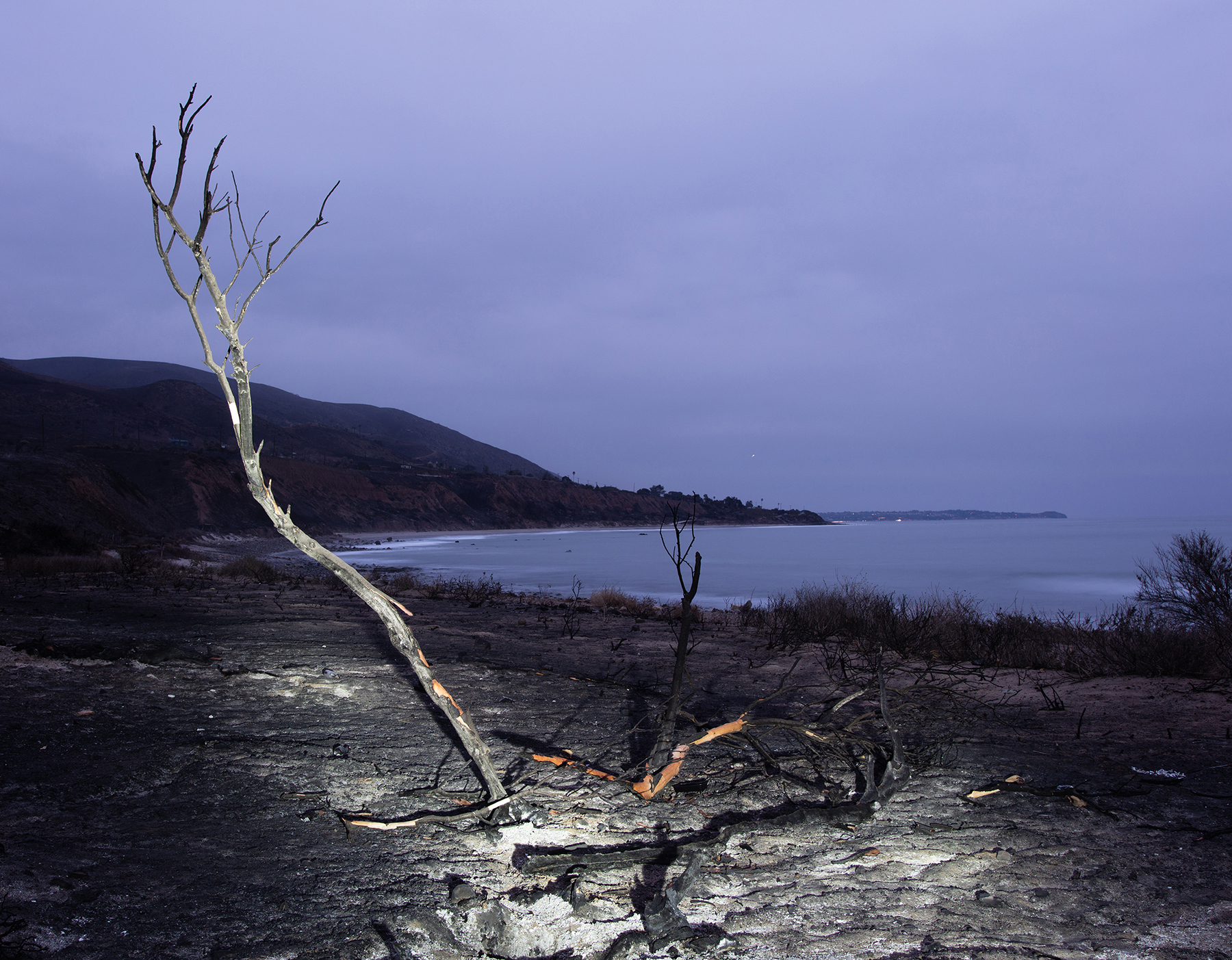 The Leo Carrillo State Park in Malibu was devastated by the Woolsey fire.