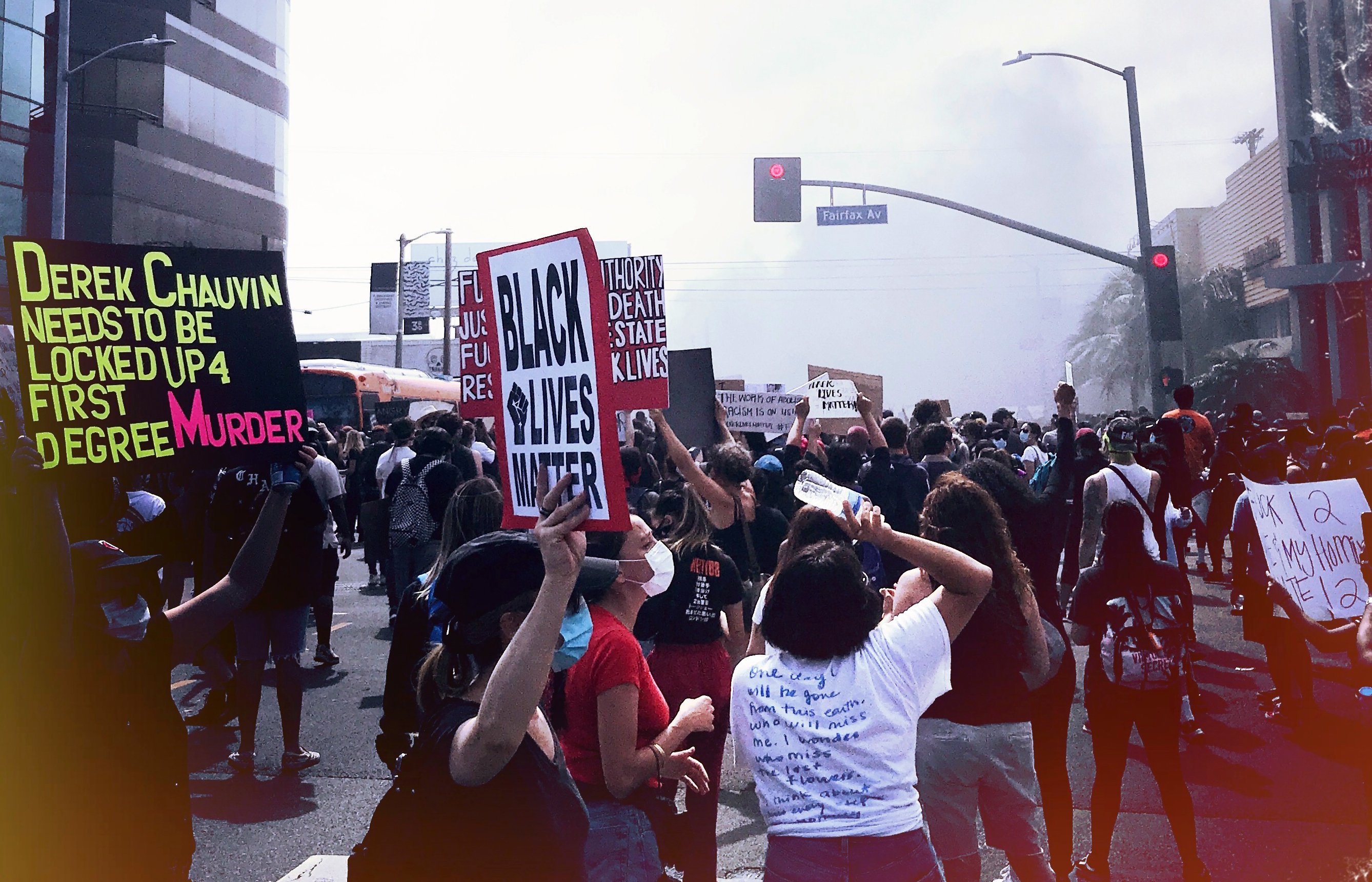 LA protest for George Floyd