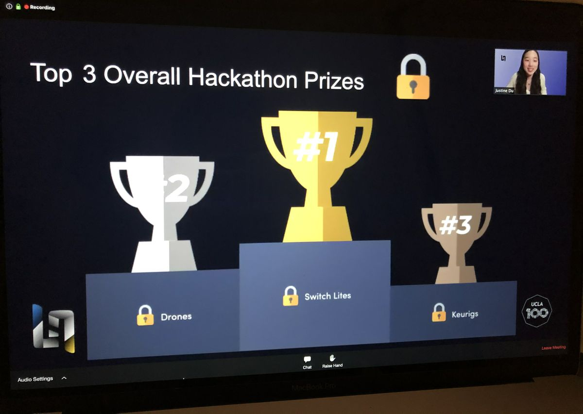 LA Hacks winners
